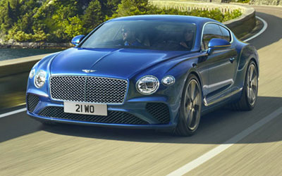 New Bentley Cars at Grange