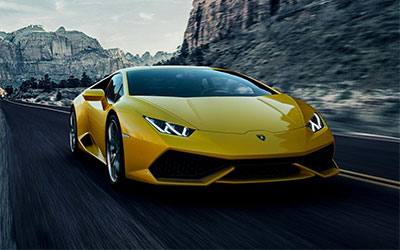 New Lamborghini Cars at Grange