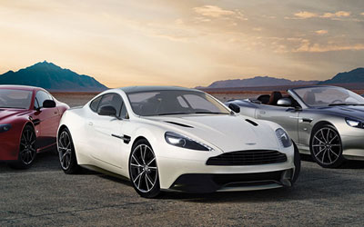 Approved Used Aston Martin Cars at Grange