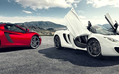 Approved Used McLaren Cars at Grange