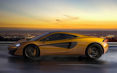 McLaren Car Finance at Grange