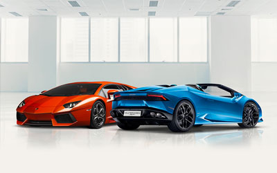 Pre-Owned Lamborghini Cars at Grange