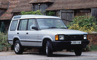 Land Rover Discovery Mark One (1989 to 1998)