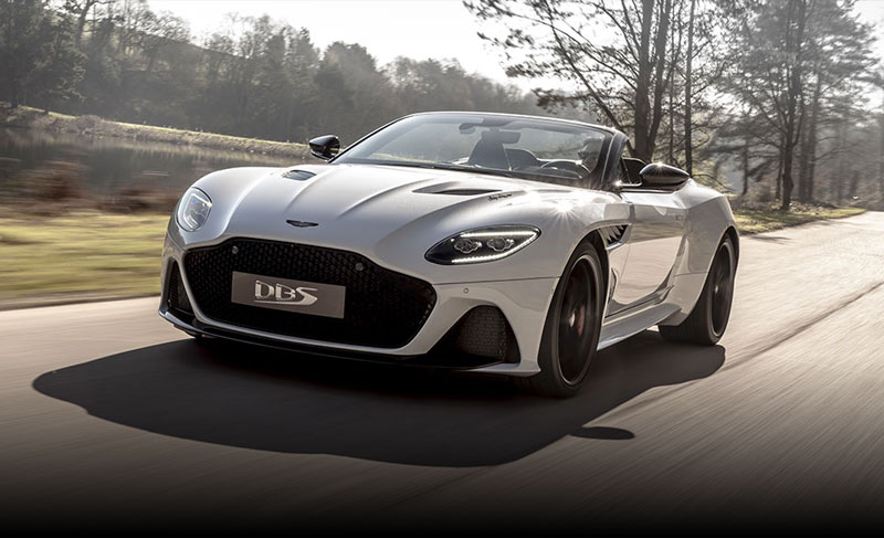 New Aston Martin DBS Superleggera Volante