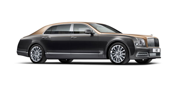 Bentley Mulsanne Extended Wheelbase at Grange