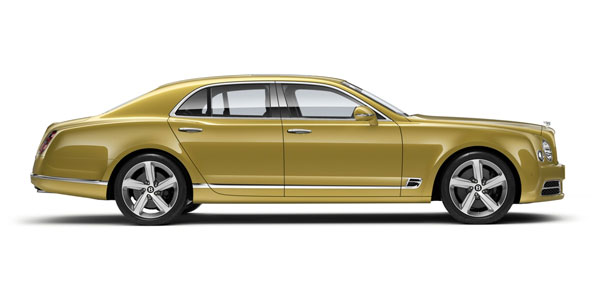 Bentley Mulsanne Speed at Grange