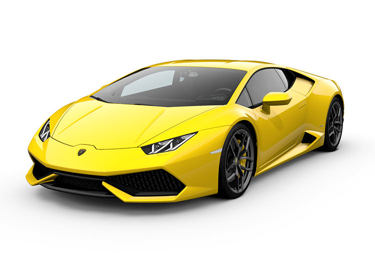 New Lamborghini Huracán Coupé at Grange