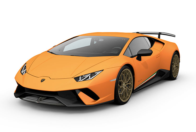 New Lamborghini Huracán Performante at Grange