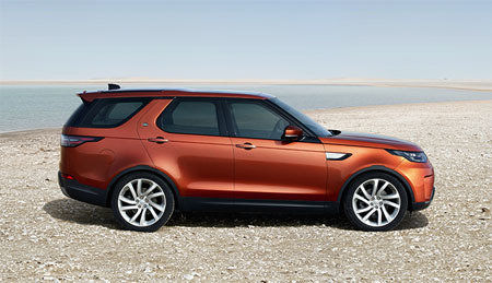 All-New Land Rover Discovery SUV
