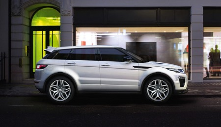 Management & Directors Car Clearance 2018 -  Range Rover Evoque at Grange