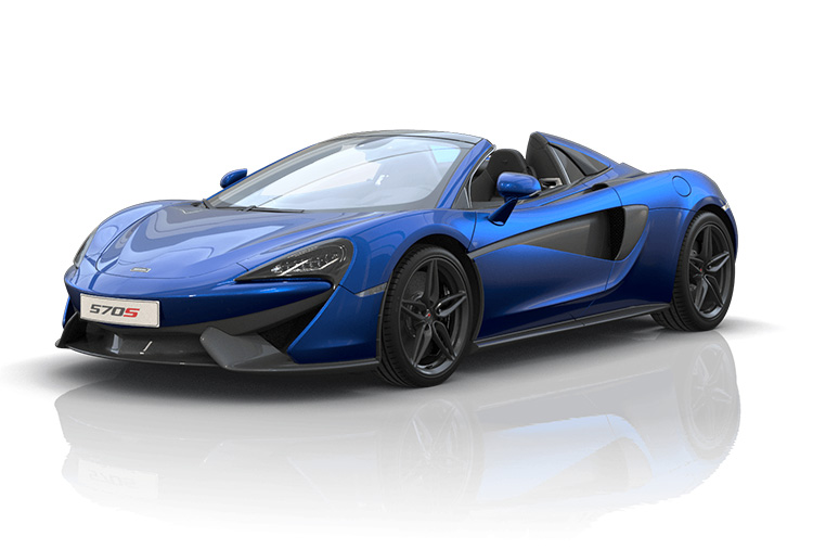 New McLaren 570S Spider at Grange