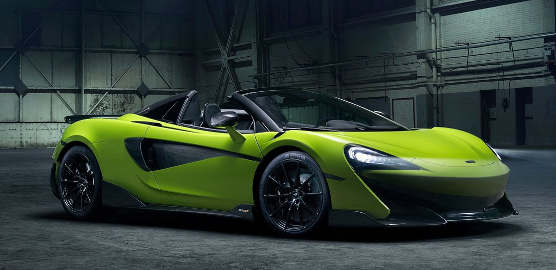 New McLaren 600LT Spider at Grange