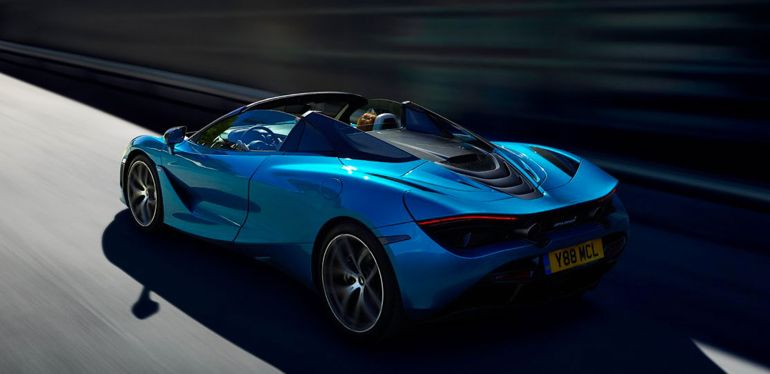 New McLaren 720S Spider at Grange