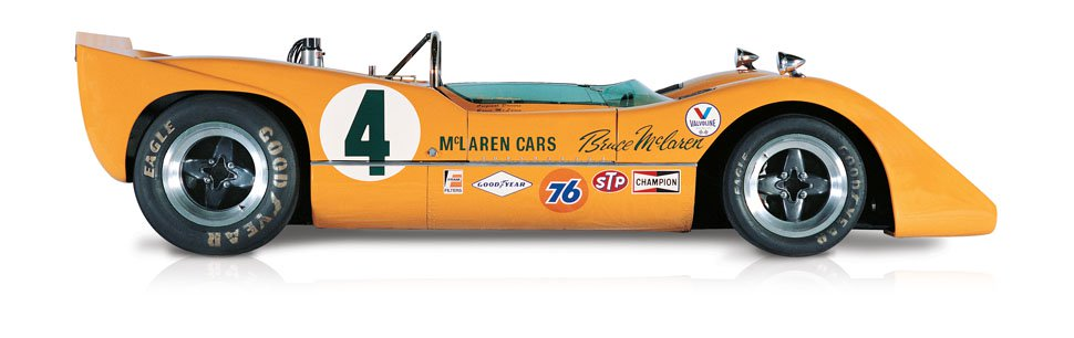 The Can-Am McLaren M6A 1967 - McLaren Legacy Cars
