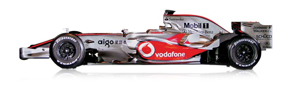 The Formula 1 McLaren MP4-23 - McLaren Legacy Cars