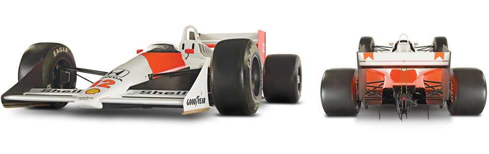 The Formula 1 McLaren MP4/4 - McLaren Legacy Cars