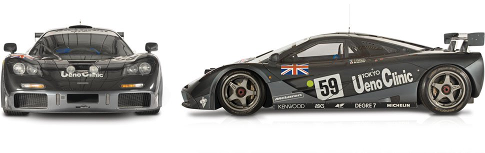 The Road Car McLaren F1 GTR - McLaren Legacy Cars
