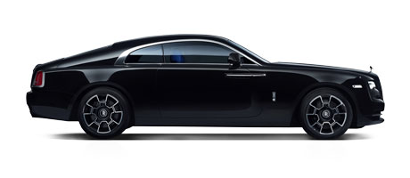 Rolls-Royce Black Badge Wraith at Grange