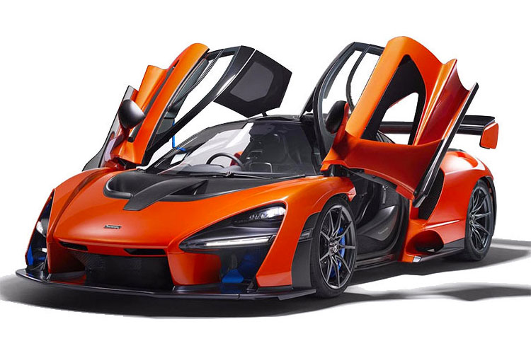 The McLaren Senna Ultimate Series