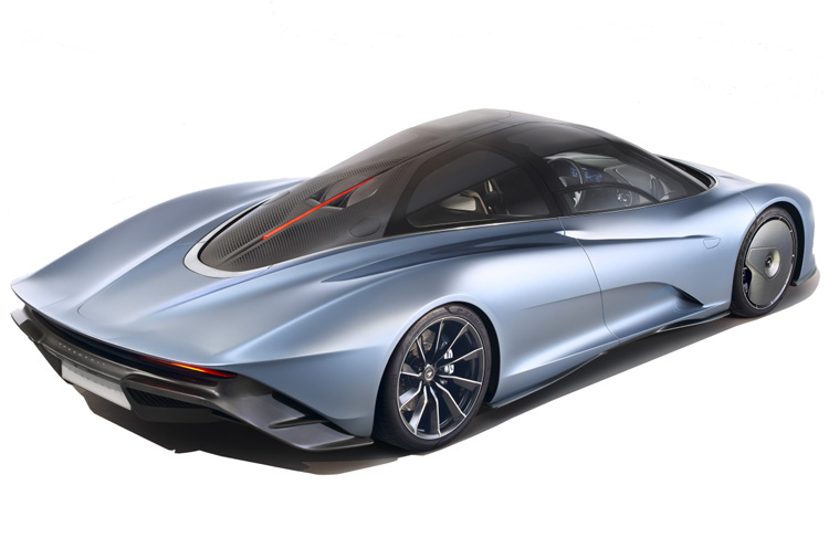 The McLaren Speedtail Ultimate Series