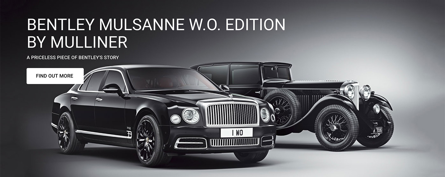 Bentley Mulsanne W.O. Edition by Mulliner at Grange