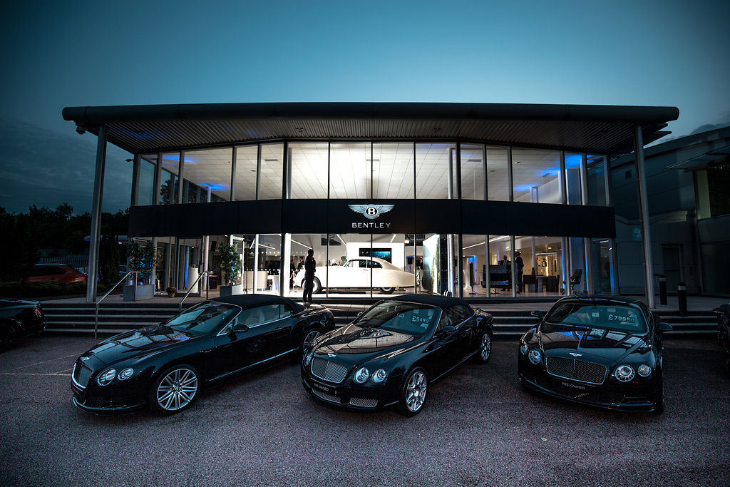 Bentley Tunbridge Wells Opening Night