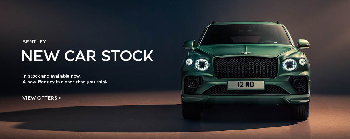 New Bentley Car Stock At Grange