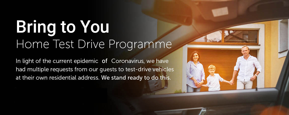 Bring to You - Home Test Drive Programme Launched At Grange