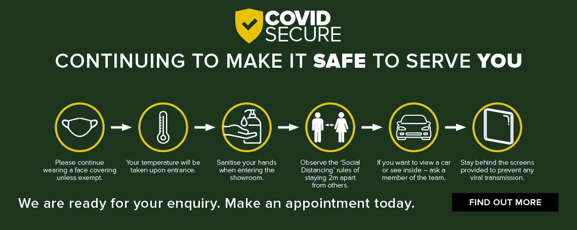 We Are Open & Covid Secure
