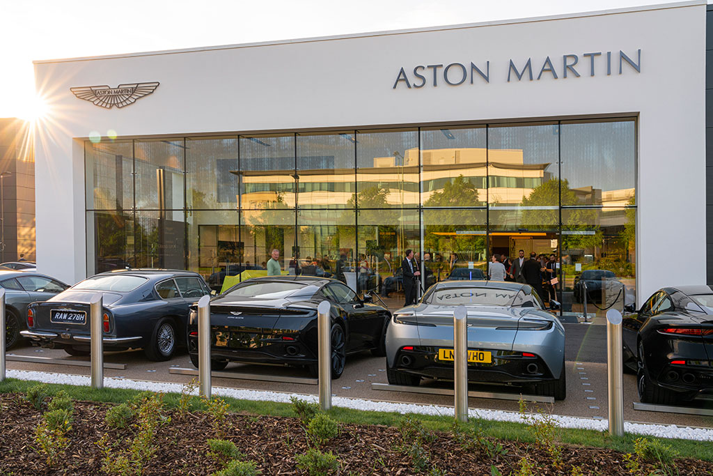 Grange Aston Martin Hatfield Grand Opening Event