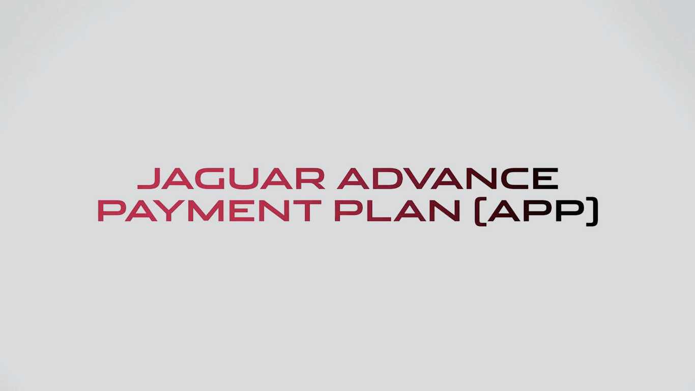 Jaguar Advance Payment Plan at Grange Jaguar
