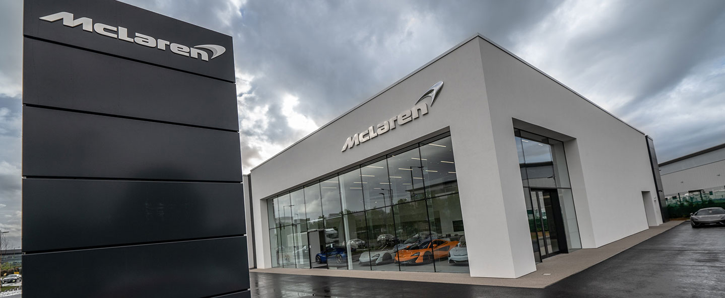 Introducing our new state-of-the-art Grange McLaren Hatfield dealership