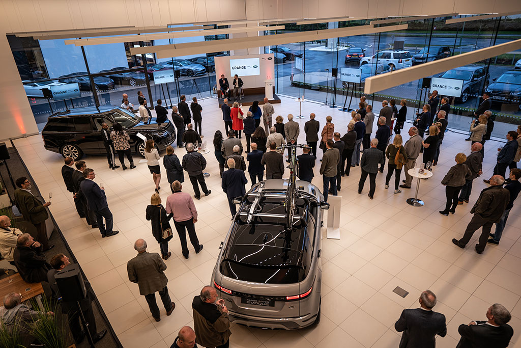 Grange Jaguar & Land Rover Hatfield Opening Event