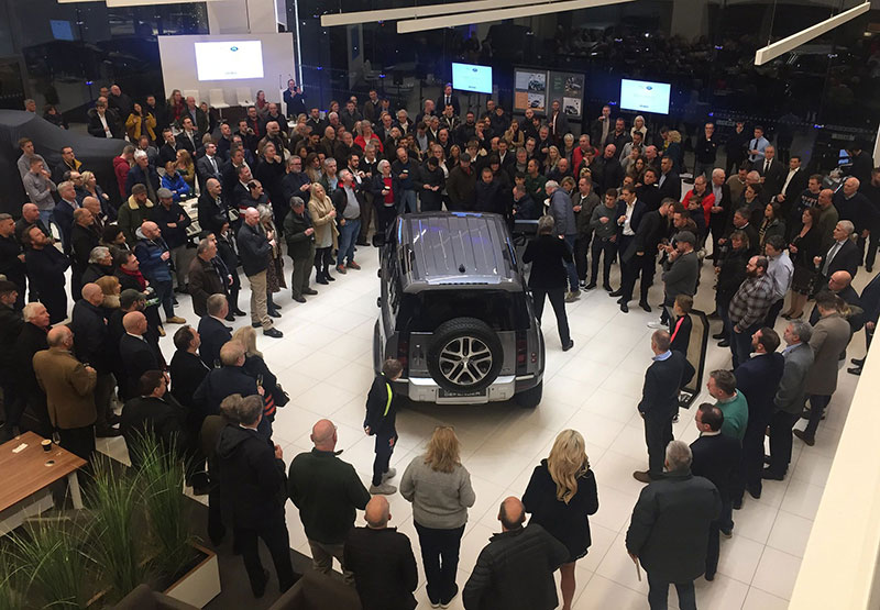 New Land Rover Defender Launch at Grange Land Rover Hatfield