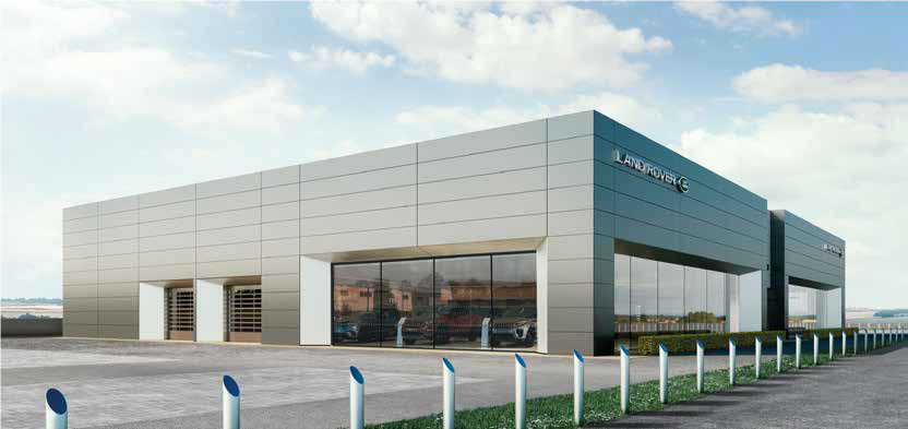 Introducing our new state-of-the-art Grange Land Rover Hatfield dealership