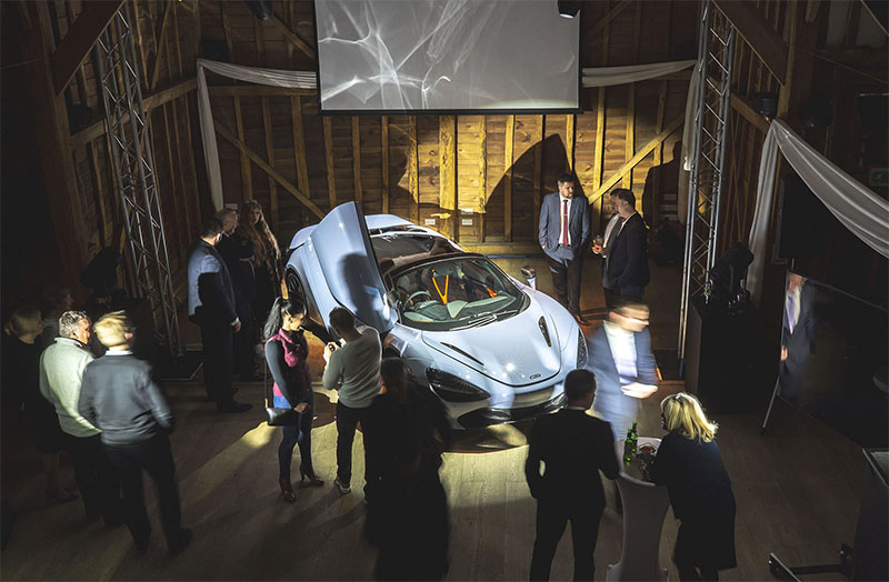 New McLaren 720S Spider Launch Event