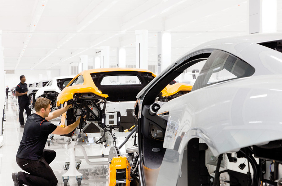 Precision and Inspiration - McLaren's Technology and Production Centre