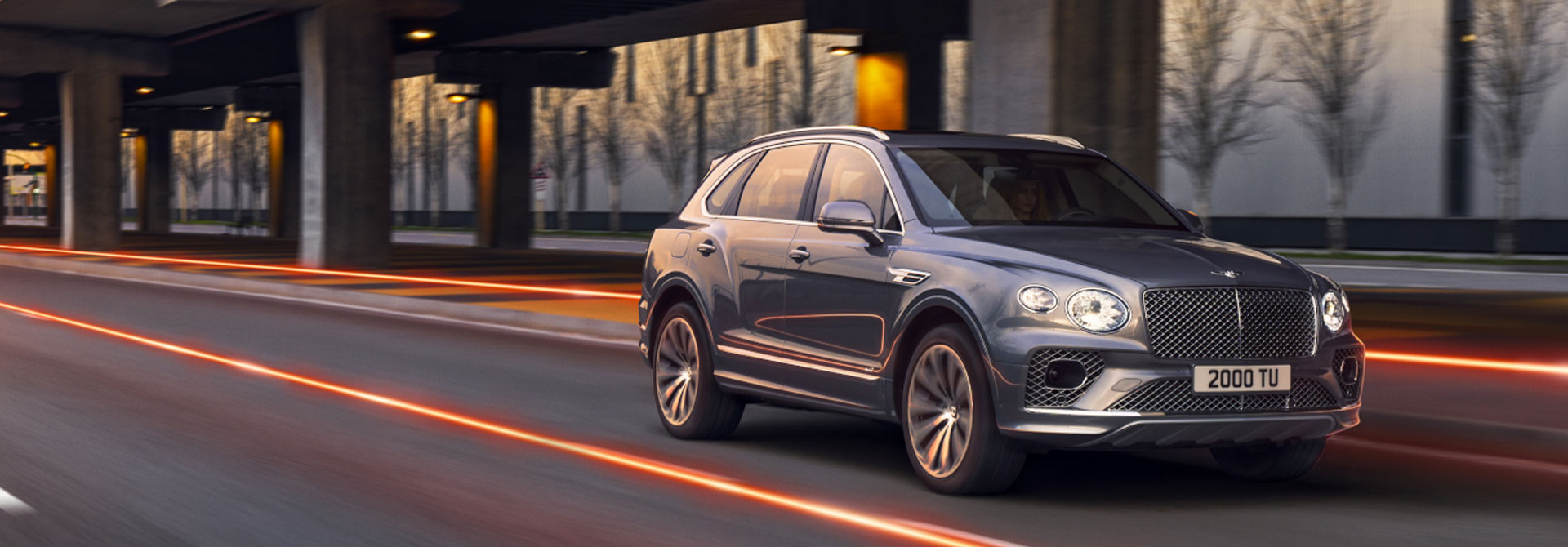 New Bentley Bentayga Range at Grange