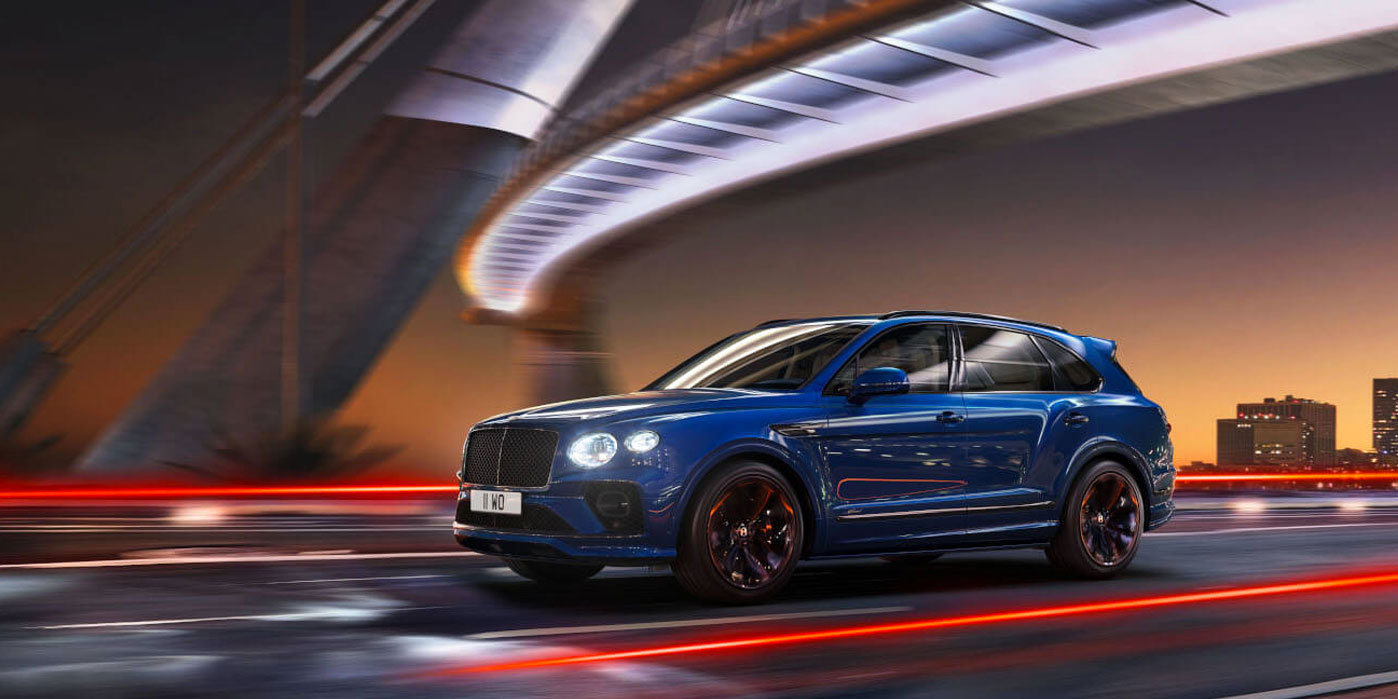 New Bentley Bentayga Range