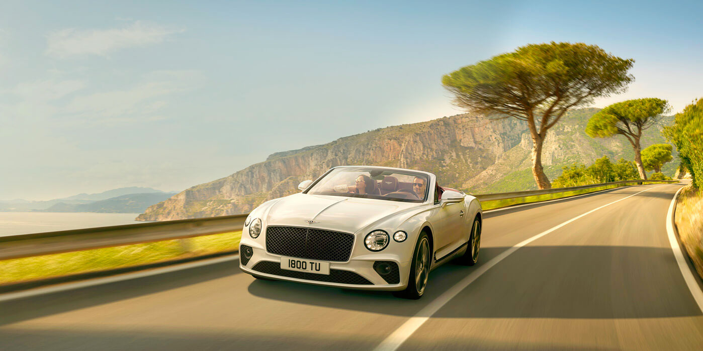 The new Bentley Continental GT Convertible is revealed