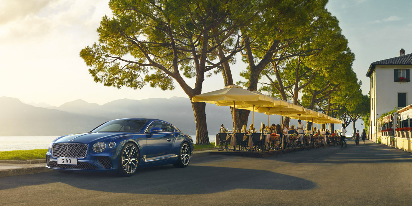 Bentley New Continental GT   Redifining The Category At Grange