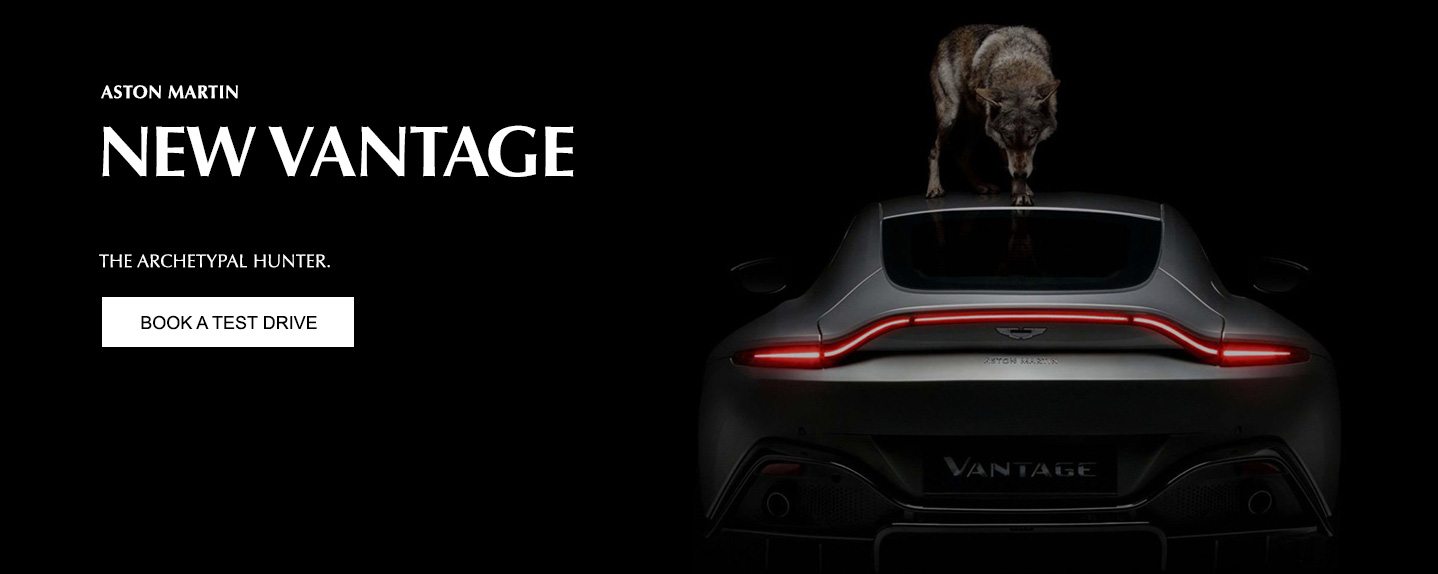 Aston Martin Vantage Test Drive at Grange