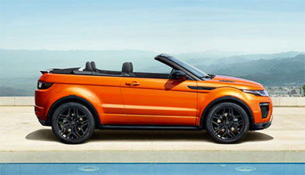 Land Rover Range Rover Evoque Convertible Offers