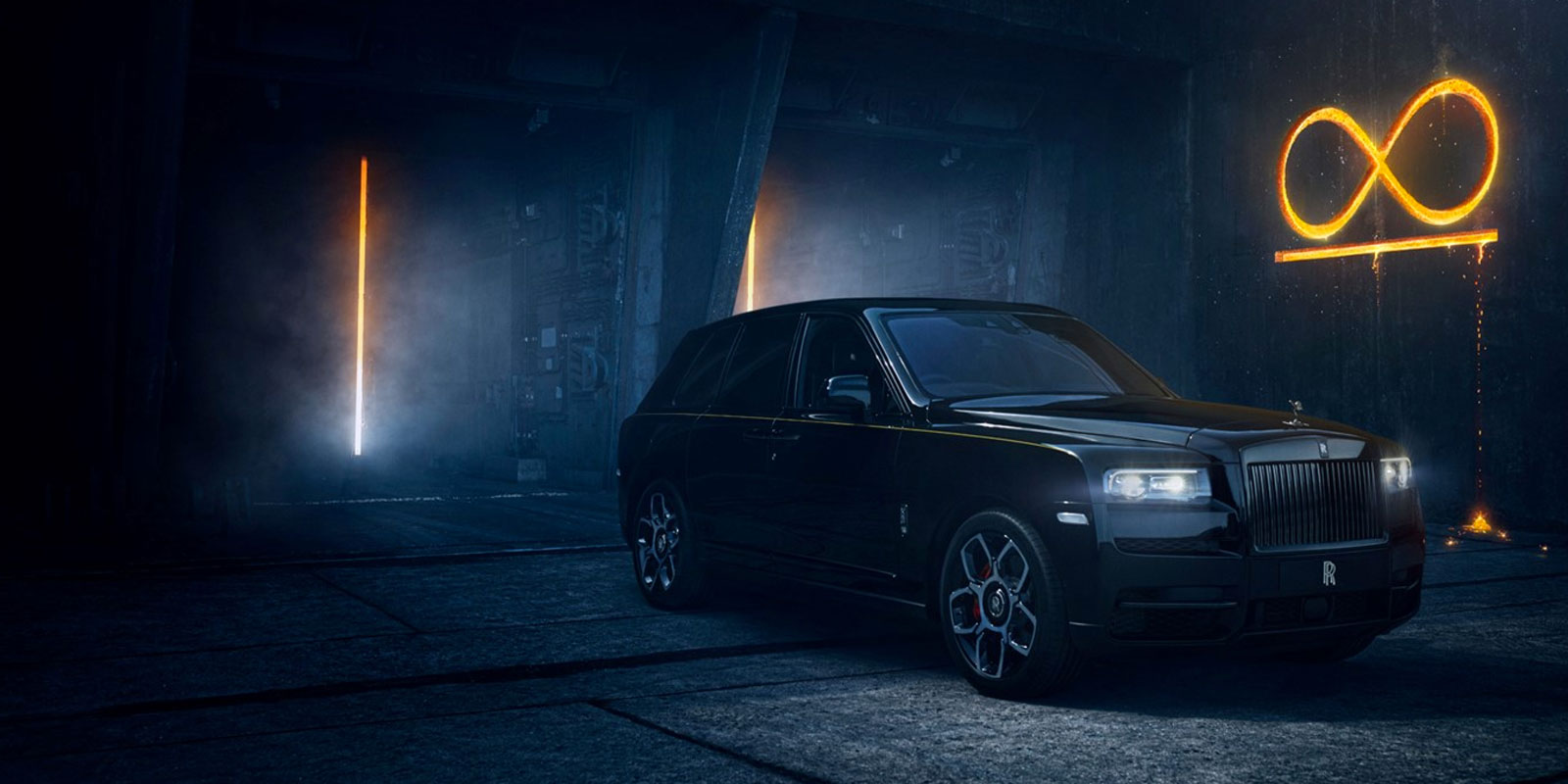 New Rolls-Royce Black Badge Series Cars at Grange