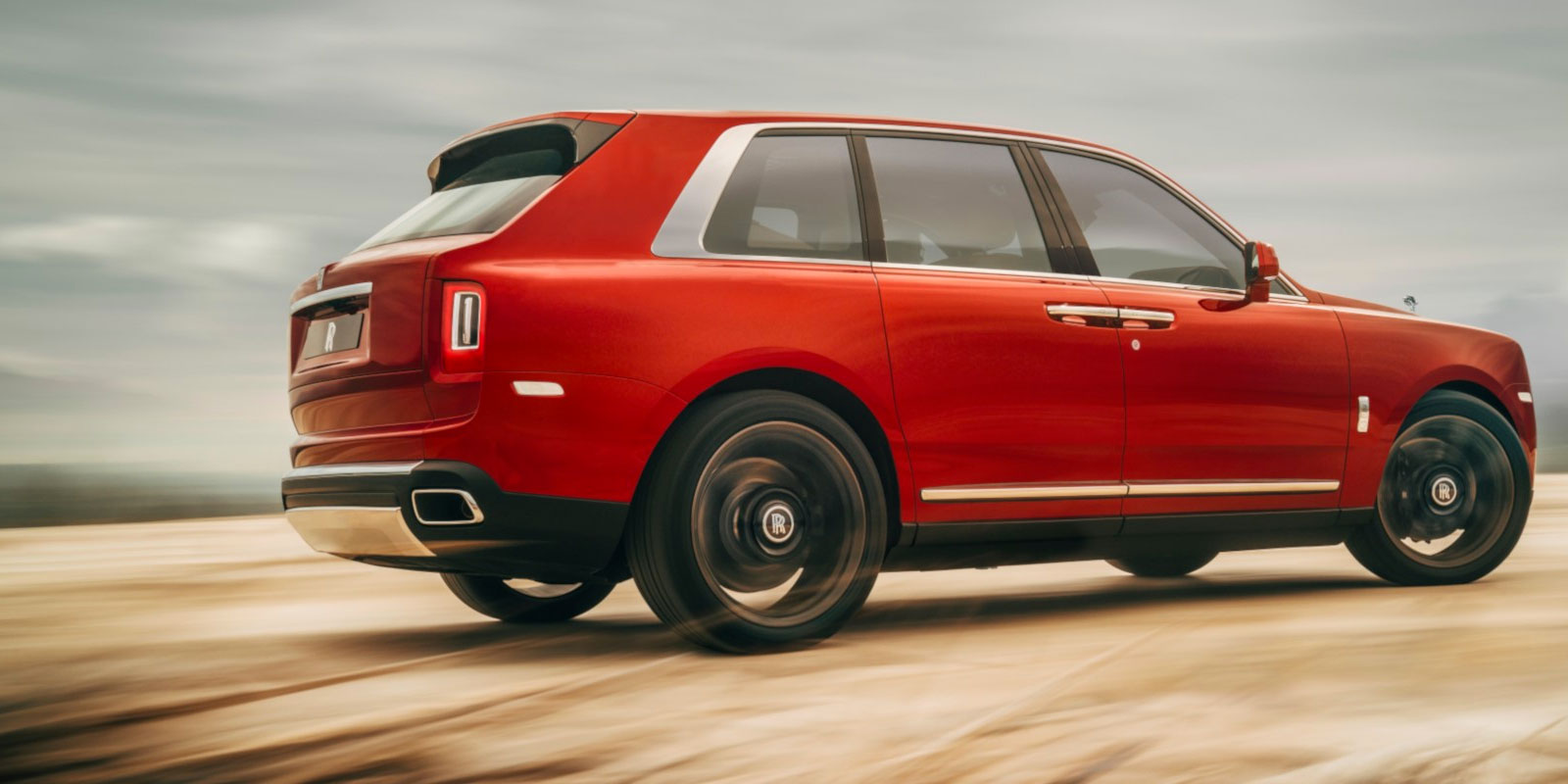 New Rolls-Royce Cullinan Series Cars at Grange