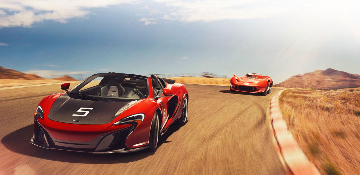 The McLaren 650S Can-Am