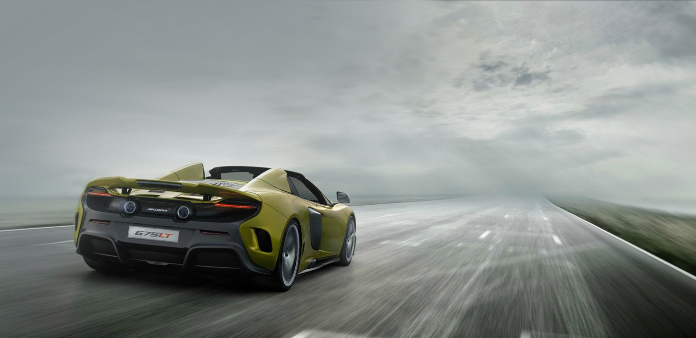 The McLaren 675LT Spider
